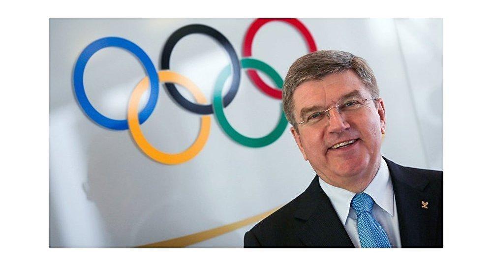 توماس باخ رئیس کمیته بین المللی المپیک