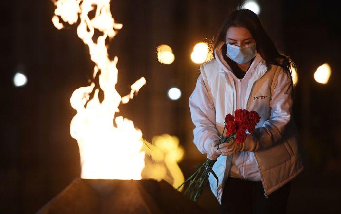 تاتارستان/ برگزاری اقدام بینالمللی «شمعهای یادبود» به مناسبت 75-مین سالگرد آغاز جنگ جهانی دوم