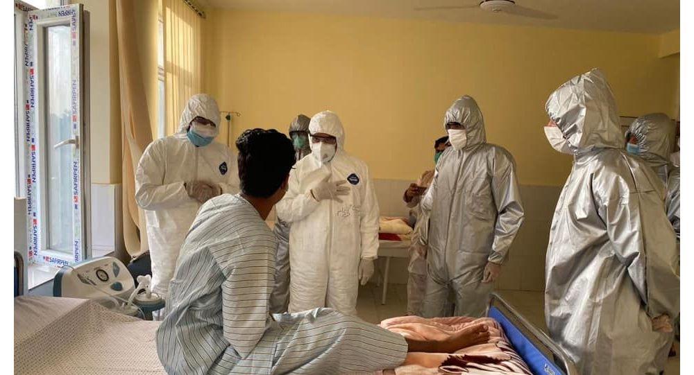 وزارت صحت فاریاب تجهیزات طبی دریافت کرد