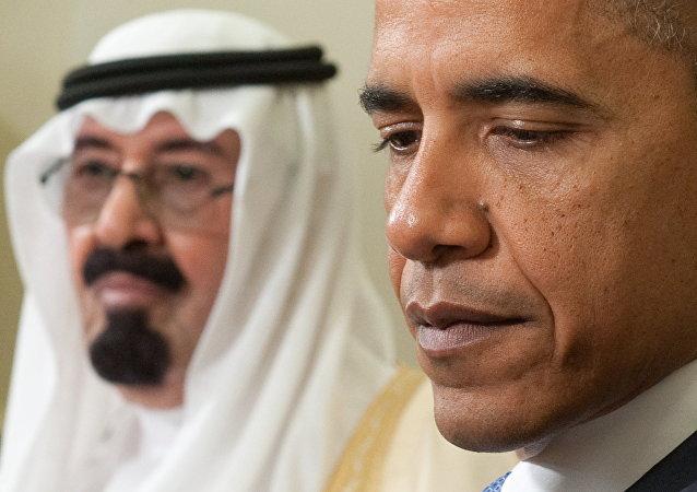 US President Barack Obama and  King Abdullah of Saudi Arabia