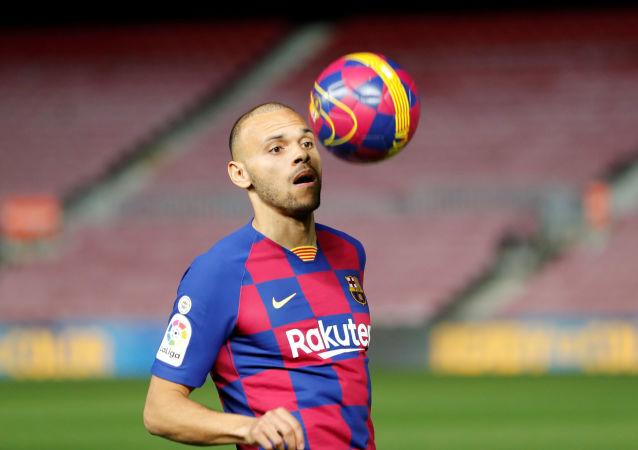 Martin Braithwaite, jugador del FC Barcelona