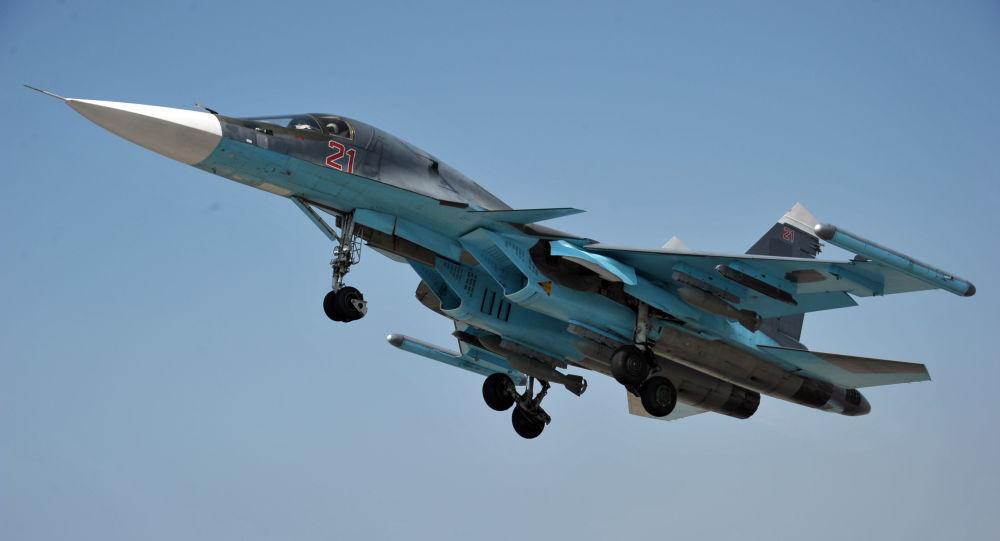طیاره بمبارد ساحوی Su-34