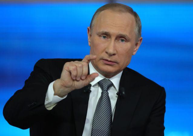 گفتگوی مستقیم ولادیمیر پوتین - سال 2016
