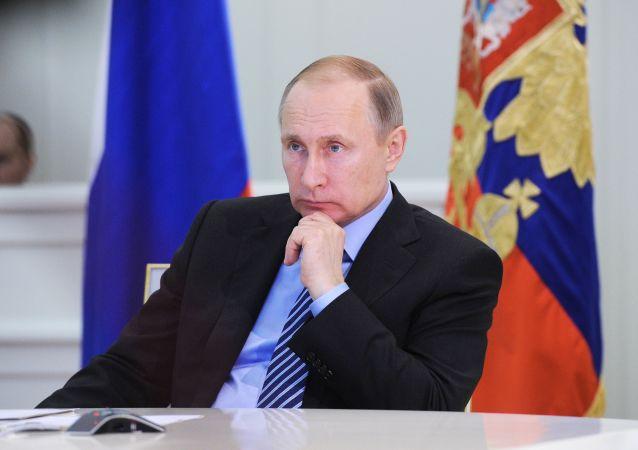 رئیس جمهور ولادیمیر پوتین