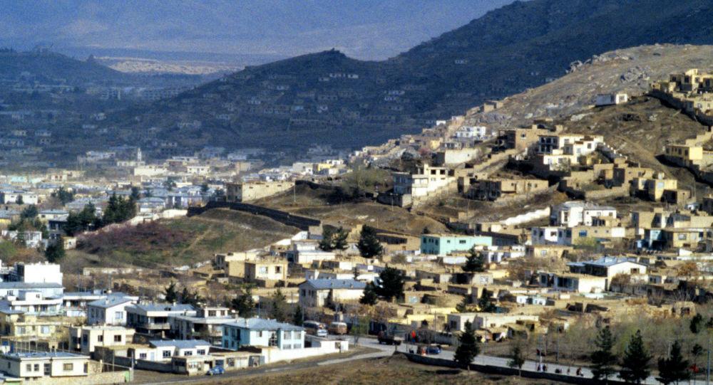 Вид на город Кабул
