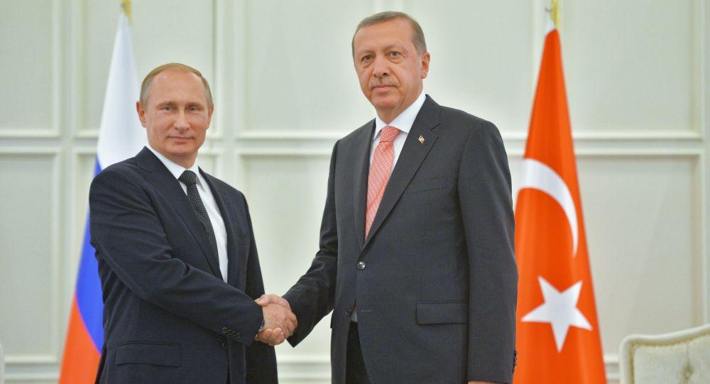 تلگرام اردوغان به پوتین