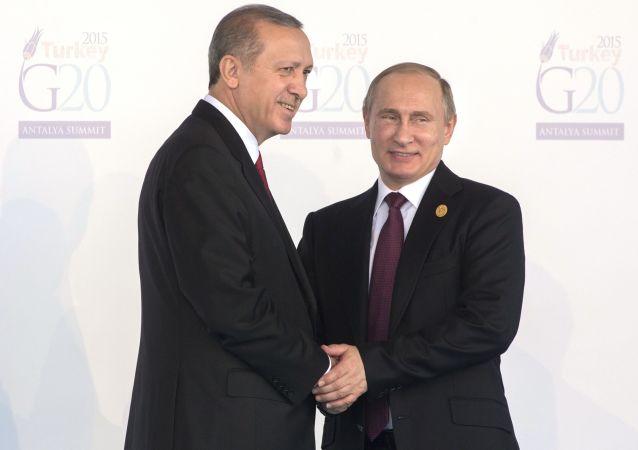 پوتین در دیدار با اردوغان: روسیه به روابط با ترکیه ارزش قایل است