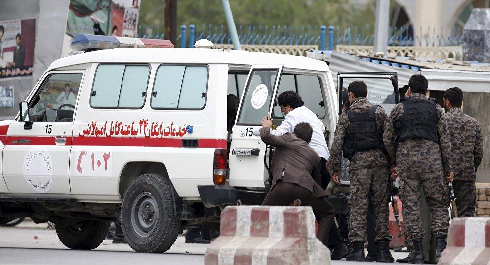 حمله طالبان بر کاروان اکمالاتی پولیس دایکندی در پروان