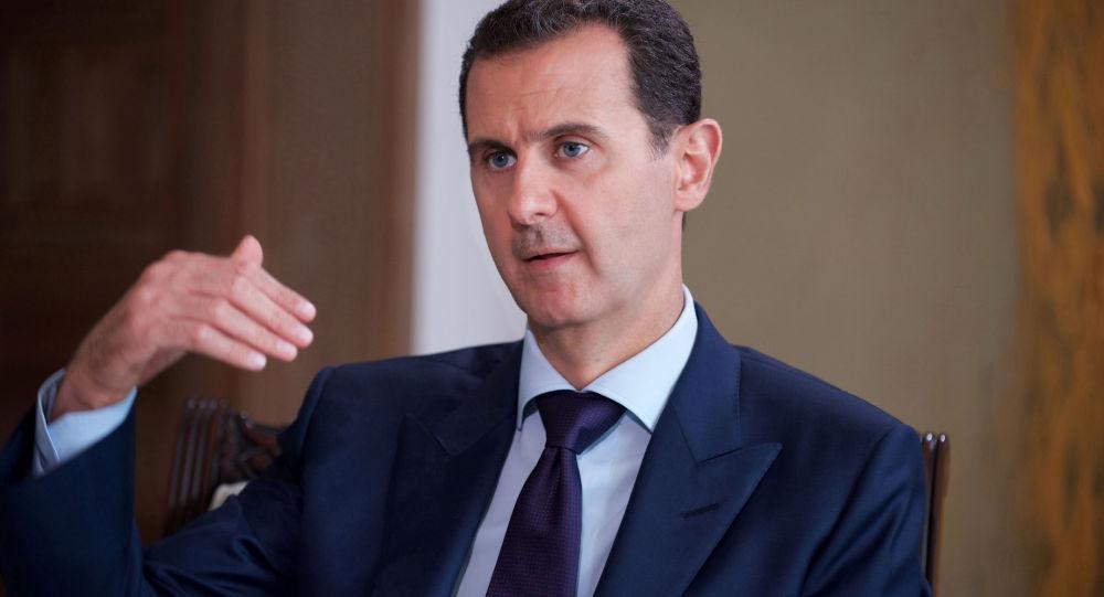 اسد: امریکا برای کشتن بغدادی با سوریه در تماس نشده است