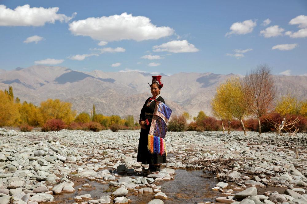 یک زن از روستای ماتو
