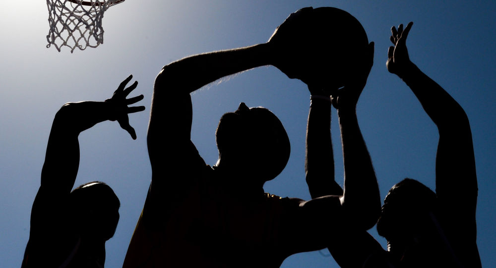 مسابقه بسکتبال اردوغان در محضر عام